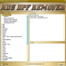 2017.5 version DPF+EGR REMOVER 3.0 Lambda Hotstart Software