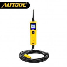AUTOOL BT260 6-30V Car Battery Tester Diagnostic Tool Electrical System Automotive Vehicle Circuit LED Power Voltage Test Probe