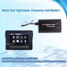 Buy 300 Tokens for Digimaster3/CKM100 Get BMW CAS4+ Authorize Package and Super BDM Programmer