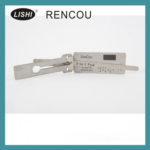 Buy LISHI 2-in-1 Auto Pick and Decoder For Renault(A)