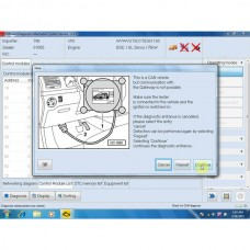 Latest VAS5054A Software for Import VW Audi