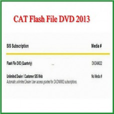 New Arrival CAT Flash File DVD 2013 Easy And Simple To Handle