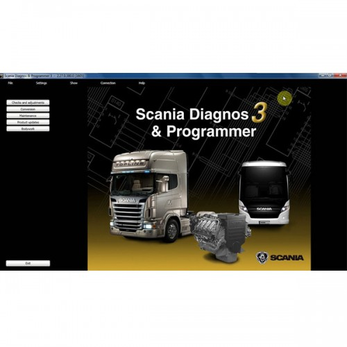 Newest SDP3 V2.27 Software for SCANIA VCI2/VCI3