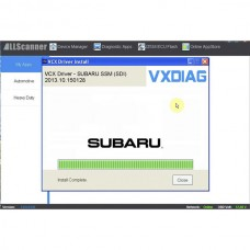 V2018.4 SUBARU SSM-III Software Update Package for VXDIAG
